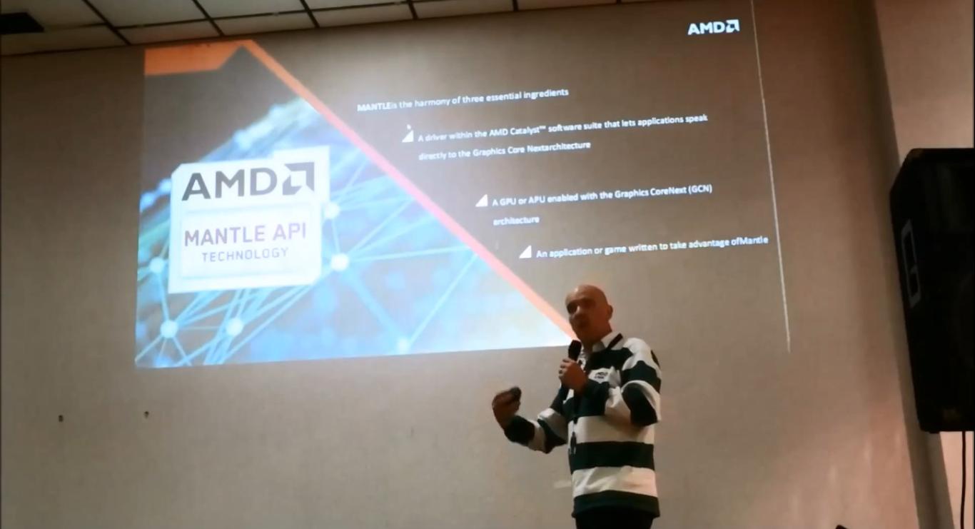 AMD's Gaming Scientist Richard Huddy Presenting at PDXLAN
