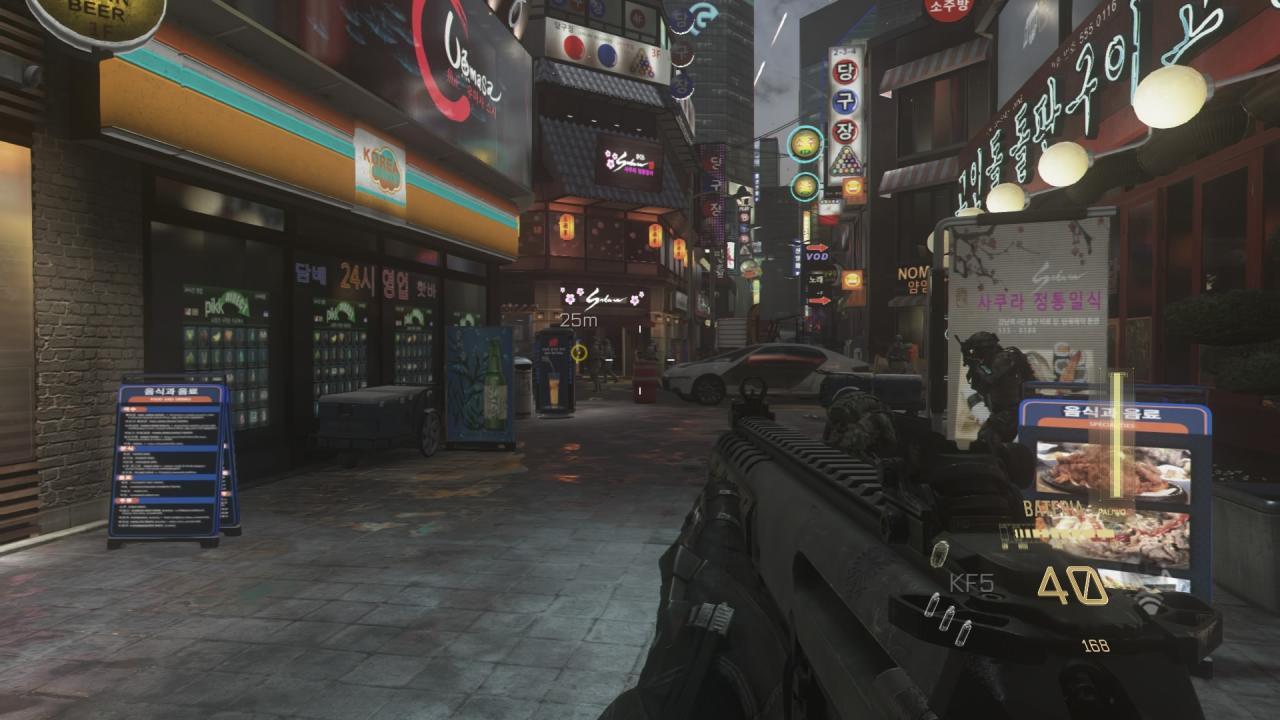 Call Of Duty Advanced Warfare Pc Vs Ps4 Screenshot Comparison Pc Version More Vibrant And Detailed