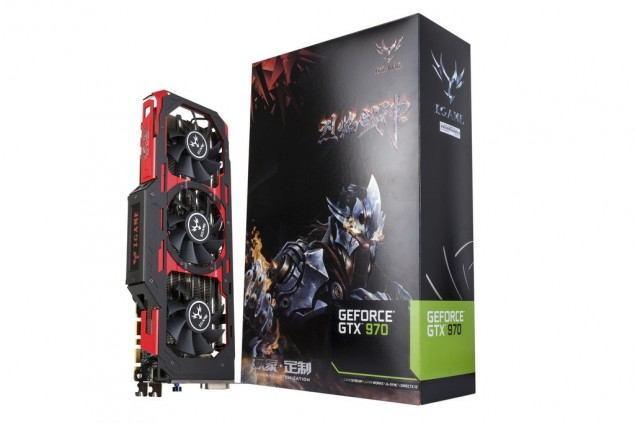 Colorful iGame GeForce GTX 970 Flame Wars X TOP_Box
