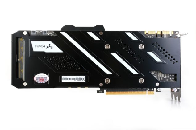Colorful iGame GeForce GTX 980 Kudan_Backplate
