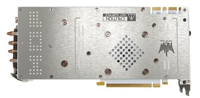 Galax Nvidia GTX 970 HOF backplate