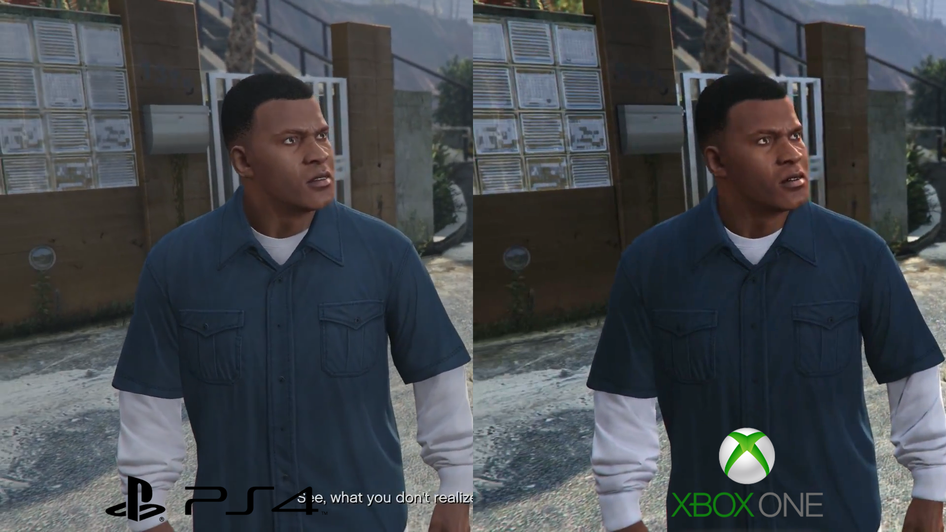 Gta V Ps4 Vs Xbox One 1080p Video And Screenshot Comparison Game Grand Theft Auto Image122 Image131 Image141 Image151 What Do You Thing About