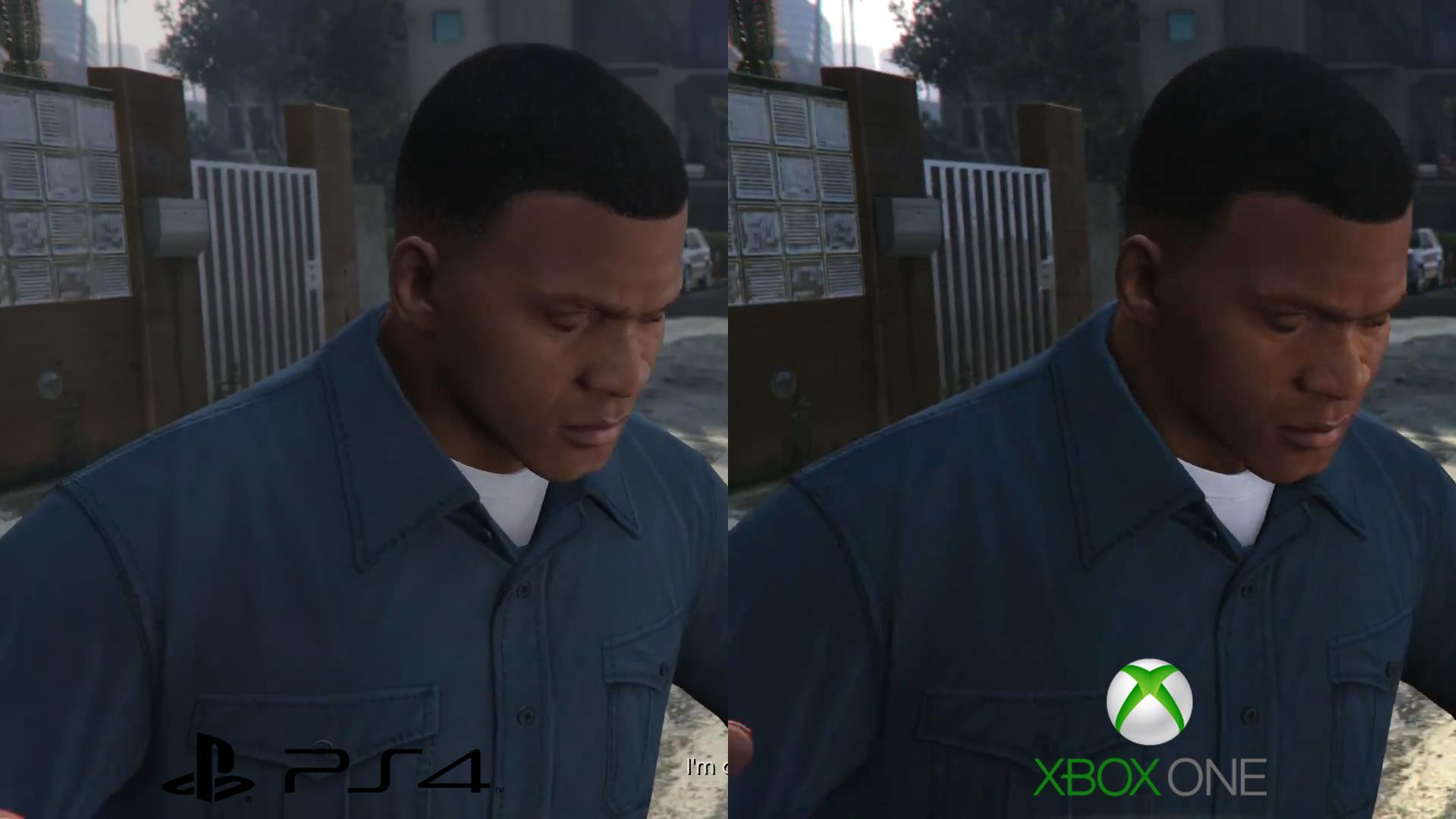 GTA V PS4 Vs Xbox One 1080p Video And Screenshot Comparison