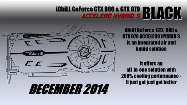 Inno3D iChill GeForce GTX 980 Accelero Hybrid S Black