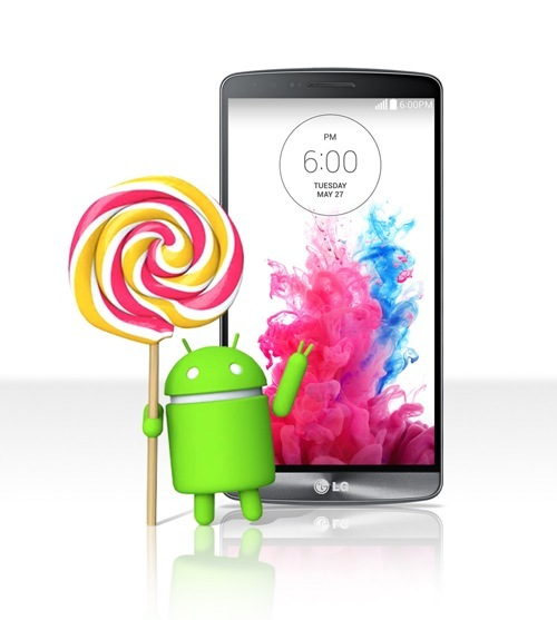 update LG G3 to Android 5.0