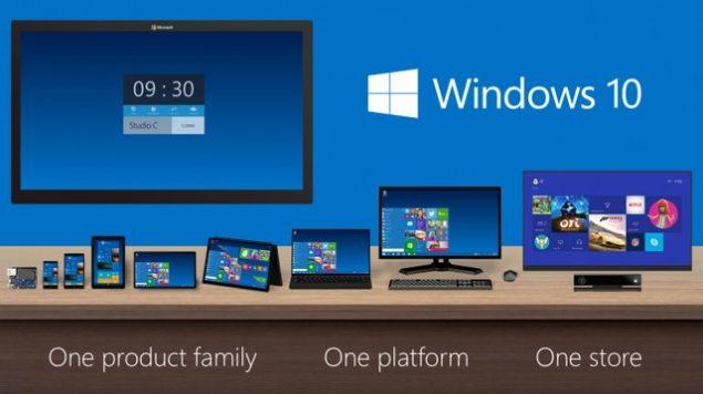 One platform for windows