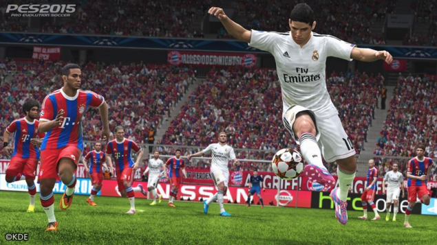 PES 2015 Aug 20 screen 1