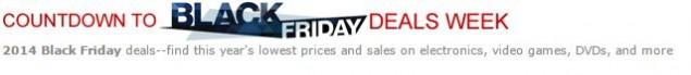 Amazon black friday blockbuster deals