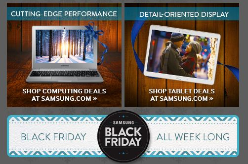 samsung black friday 2014