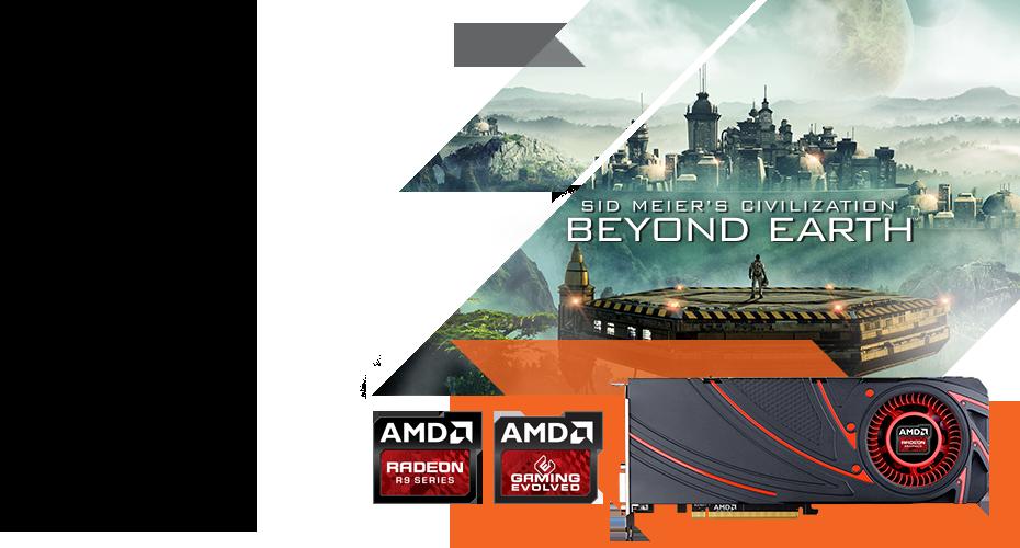 AMD Civilization Beyond Earth bundle