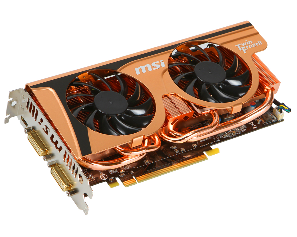 MSI Nvidia GTX 560 Ti Golden Edition