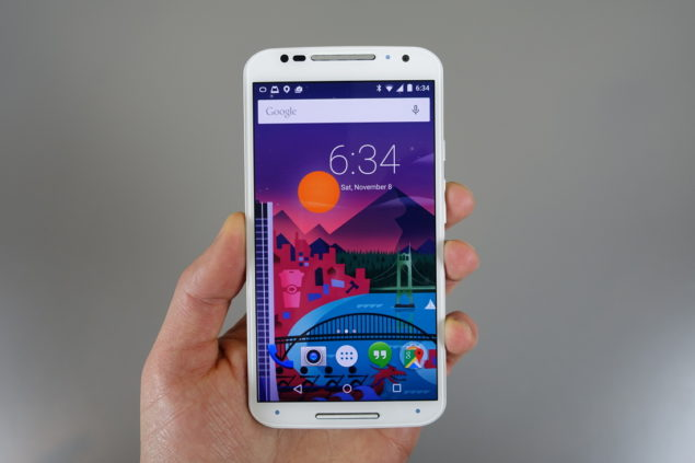 Android 5.0 lollipop on moto x 2014