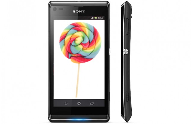 sony xperia l android 5.0 lollipop