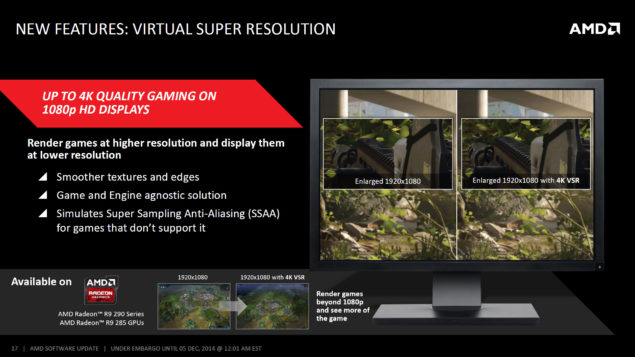 AMD Catalyst Omega Driver 14.50_4K Virtual Super Resolution AMD VSR