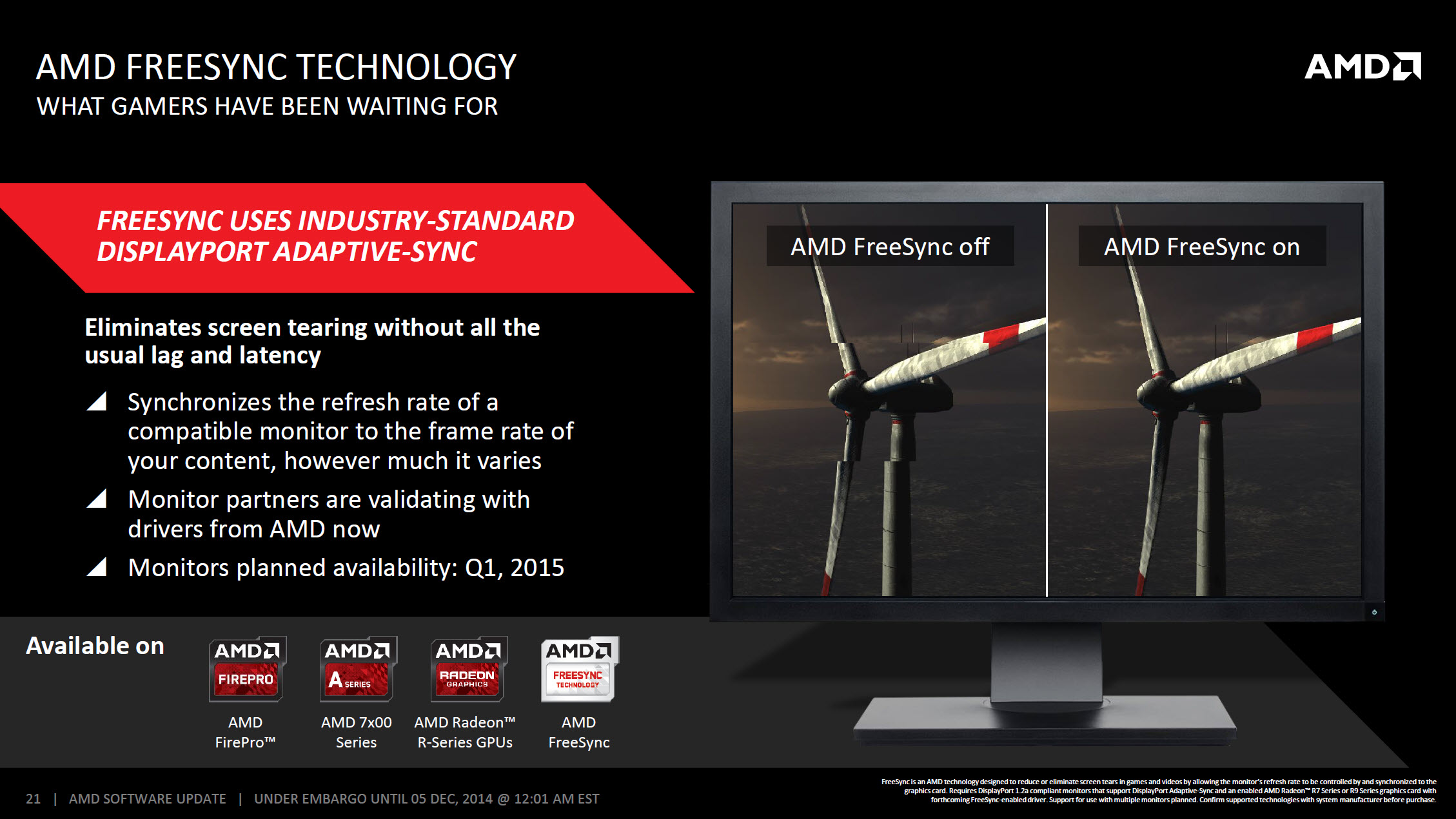 AMD Catalyst Omega Driver 14.50_AMD Freesync Technology