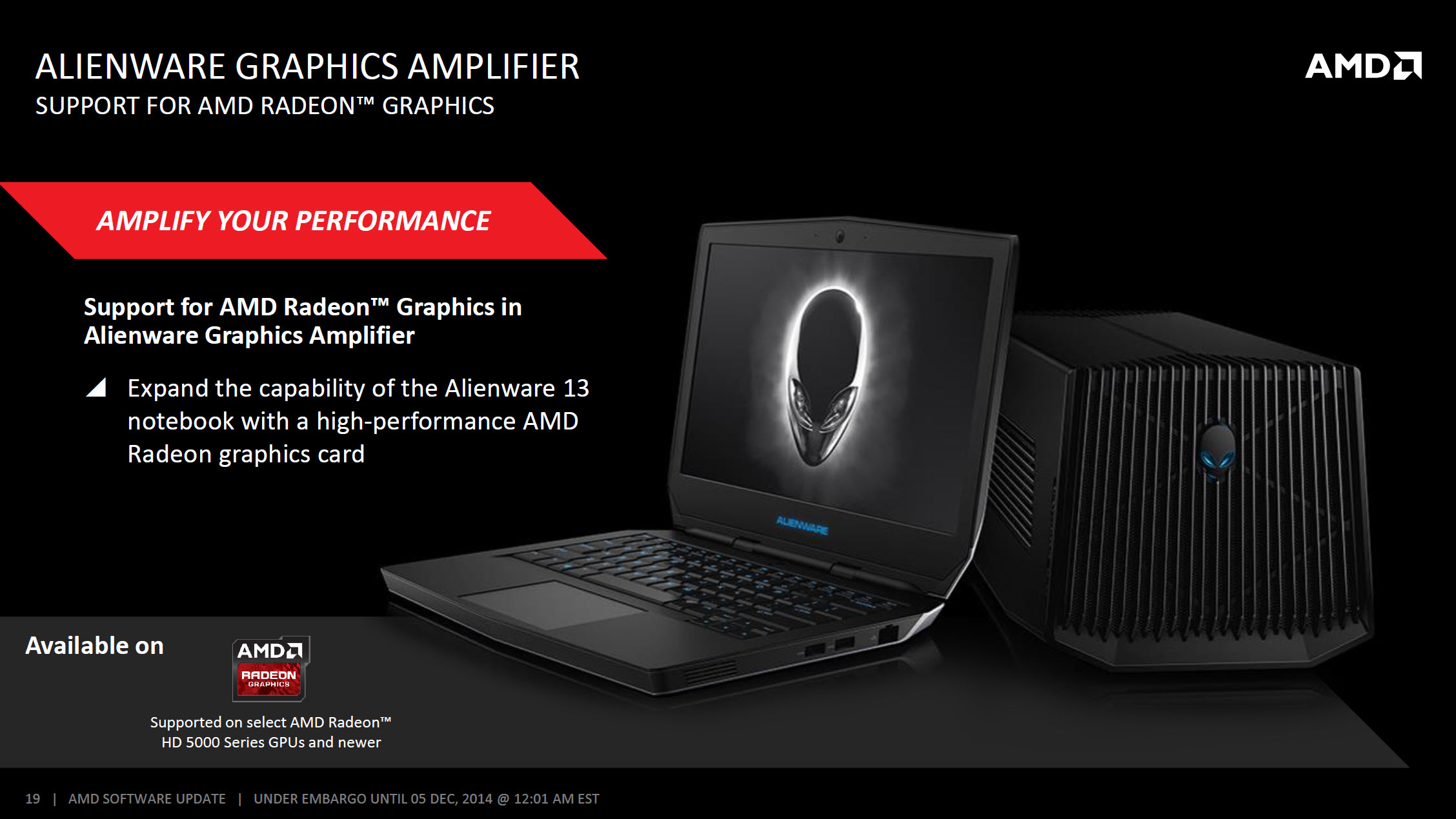 AMD Catalyst Omega Driver 14.50_Alienware Graphics Amplifier