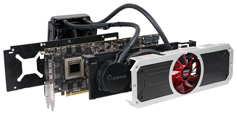 AMD Radeon R9 295X2 Hydra