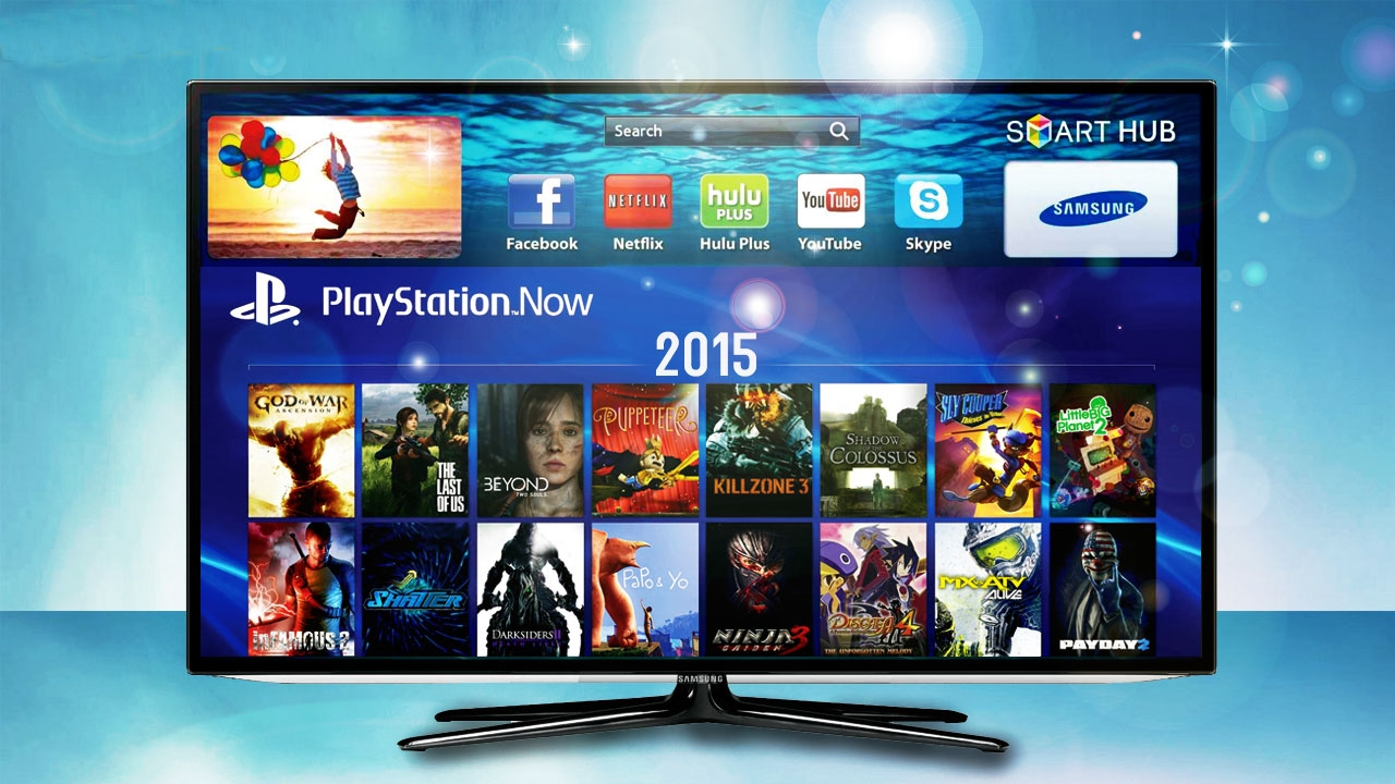 New Ps3 Games 2014 : Samsung tvs will allow you to play playstation games