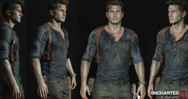 Uncharted 4 Drake Character Model (5)