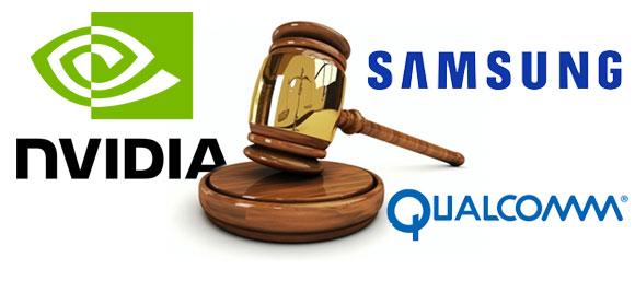 Nvidia, Samsung & Qualcomm patent war