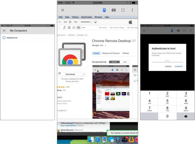 Set Up Chrome Remote Desktop for iOS: How To?