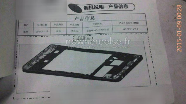 Dimensions-Xiaomi-Mi5