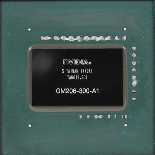 GM206 GPU Close Up