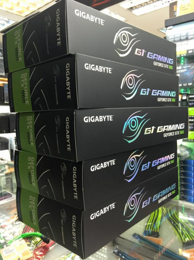 Geforce GTX960 Gaming G1 Stacks