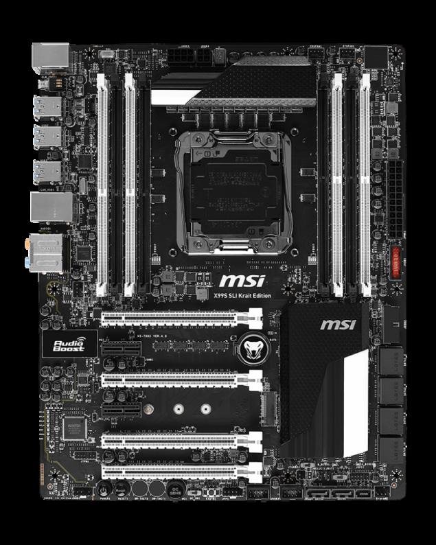 MSI X99S SLI Krait Edition Motherboard_4