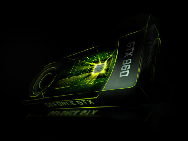 NVIDIA GeForce GTX 960 Render