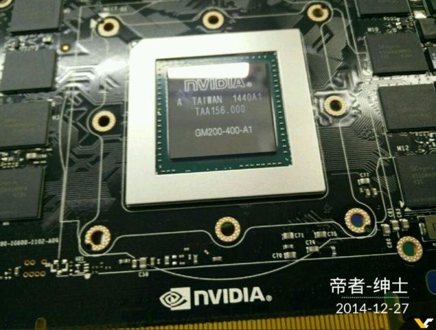 NVIDIA Maxwell GM200-400-A1 GPU