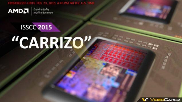 AMD Carrizo APU ISSCC 2015