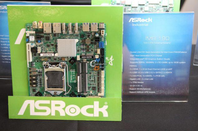 ASRock IMB-190 Mini-ITX Motherboard