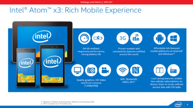 Intel Cherry Trail_Atom x3 Mobile Tablet