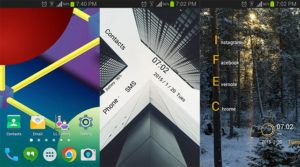 Launcher Lab Home screen