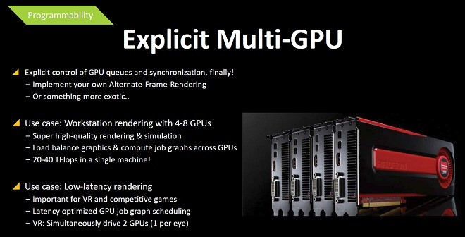 Mantle Explicit Asynchronous multi-GPU