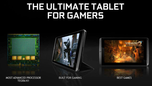 NVIDIA Shield Tablet Tegra X1