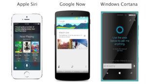 Siri vs Google Now vs Cortana