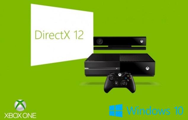 Xbox One Windows 10 DirectX 12