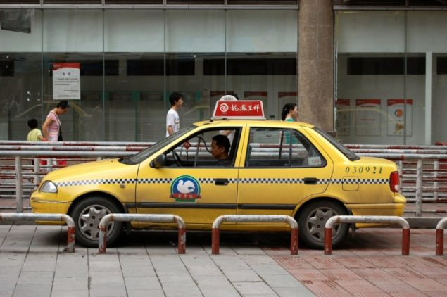 china taxi service