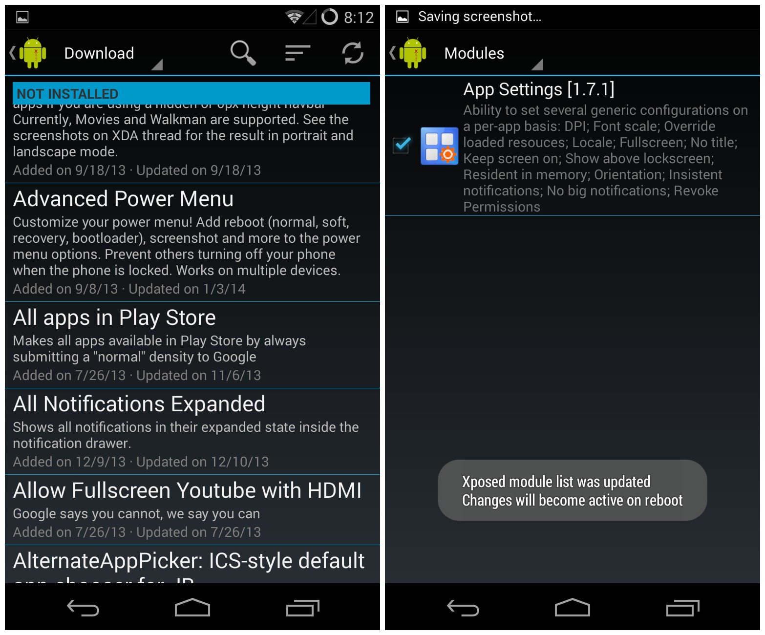 Xposed Framework Now Available For Android Lollipop 5 0
