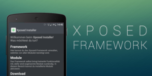 xposed framework for customization