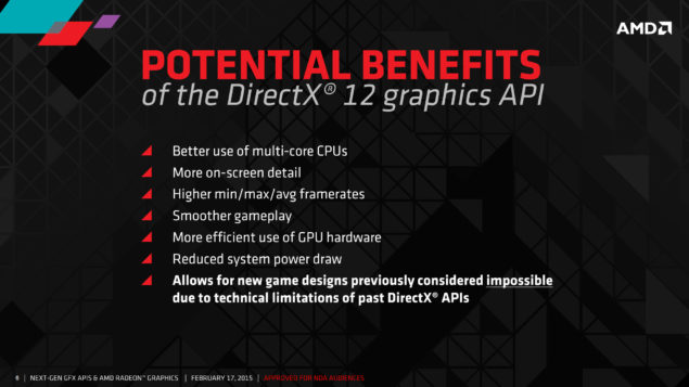 AMD DirectX 12 API Benefits