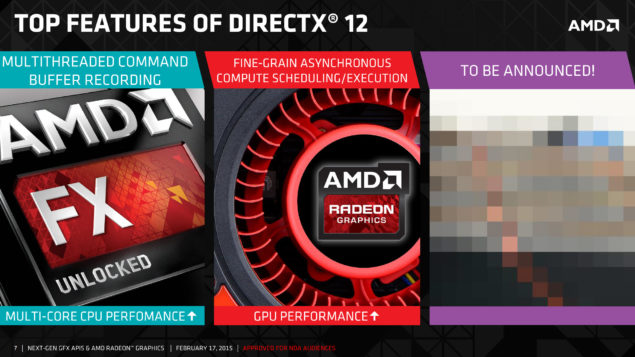 AMD DirectX 12 API Features