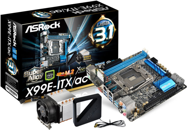 ASRock X99E-ITX AC Motherboard