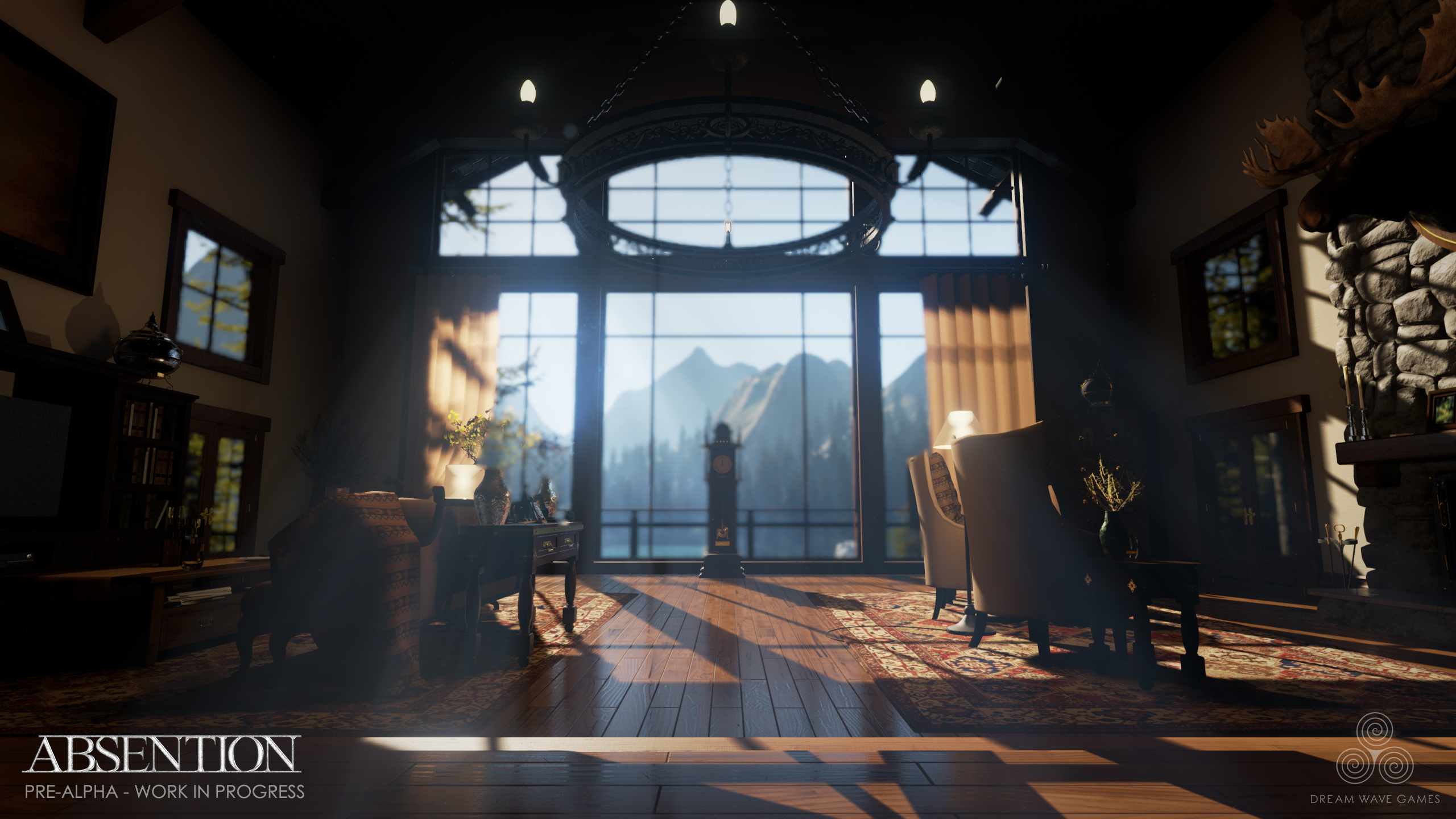 Absention - Say Hello To A VR Ready Survival Horror Game