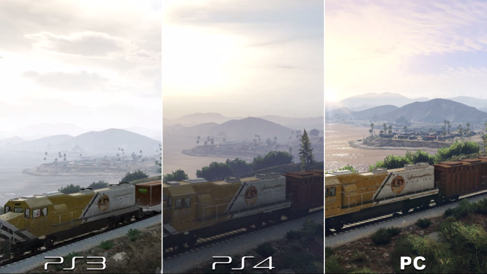 GTA V PC Quality Comparison - Looks Way Better on PC Than ...