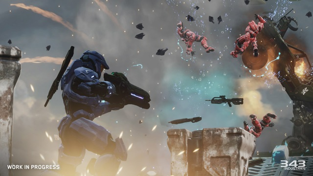 New Screenshots of Halo 3: ODST and Halo 2 Relic Map