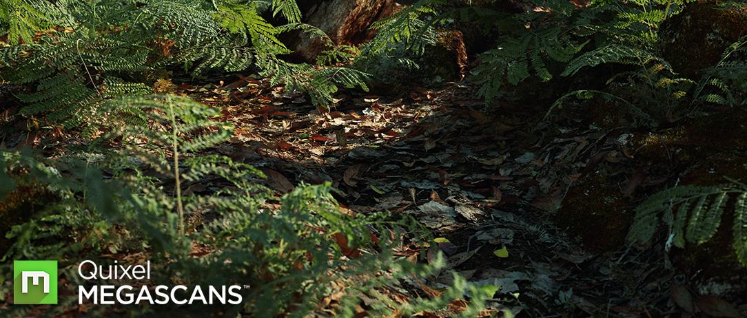 Unreal Engine 4 Quixel's Jungle Environment – 4K Resolution