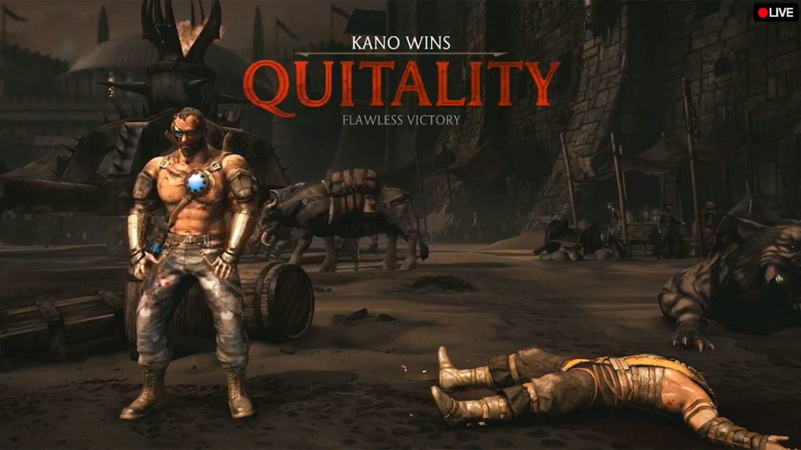 Mortal Kombat X New Head Exploding Quitality Predator Joining